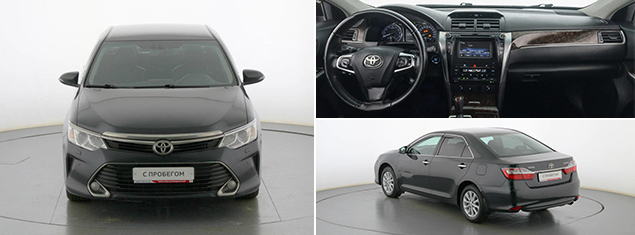 Toyota Camry 2015 г.
