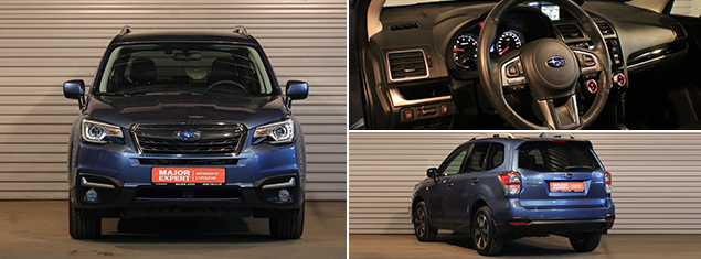 Subaru Forester 2016 г.